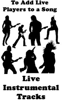 live instrumental tracks